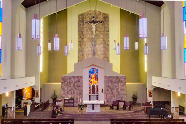 Holy Rosary Parish inside