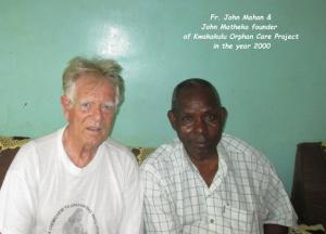 Fr. John Mahon & John Matheka