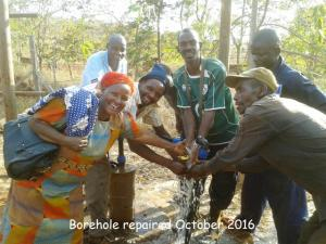 Kwakakulu borehole repairs  27.10.2016