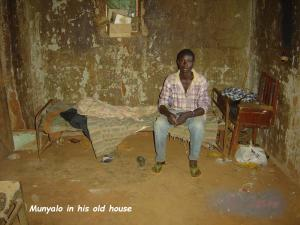 Munyalo in old house