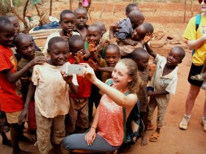 Students from my home town Kildare visit Kenya